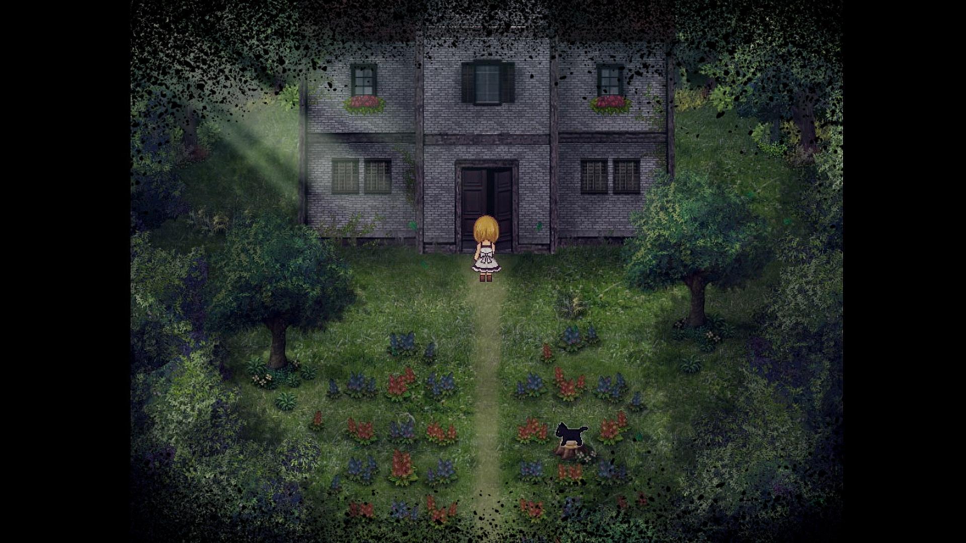 pixel horror games